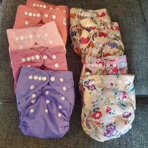 Alva Baby Cloth Diaper Baby Lot